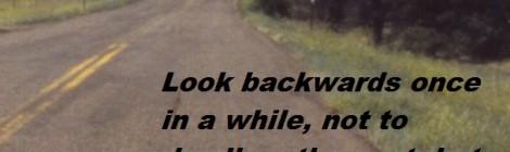 look backwards