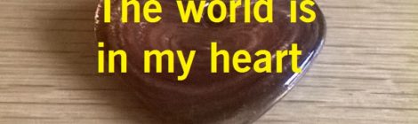 The world is in my heart