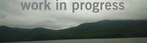 I am a work in progess