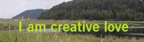 I am creative love