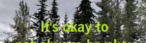 It's okay to not always be okay