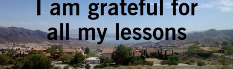 I am grateful for all my lessons
