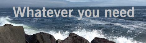 Whatever you need