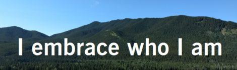 I embrace who I am
