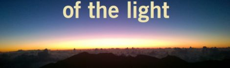 Be on the side of the light