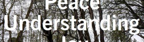 Peace, Understanding, Joy